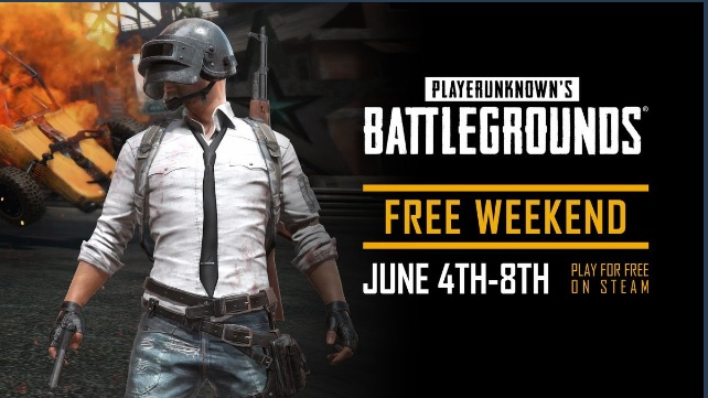 PUBG gratis per un weekend?
