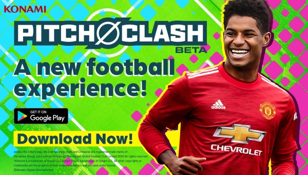 Pitch Clash: disponibile la Beta del nuovo titolo calcistico mobile di Konami
